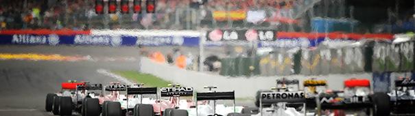 Startaufstellung F1