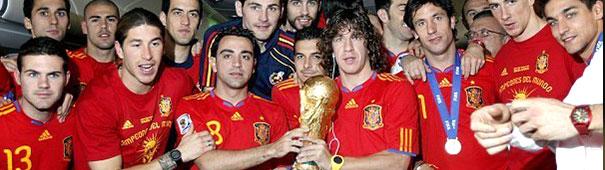 Weltmeister Spanien