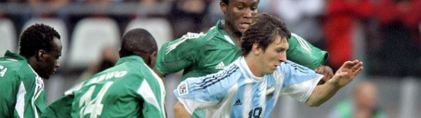 Argentinien vs. Nigeria