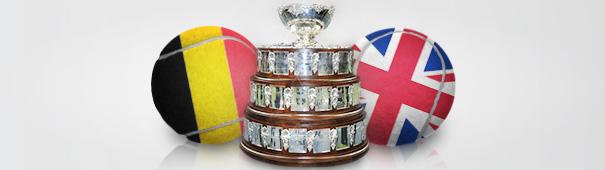 Davis Cup Finale 2015: Belgien vs. Großbritannien
