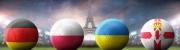 Deutschland, Polen, Ukraine, Nordirland - Fußball-EM 2016 Gruppe C