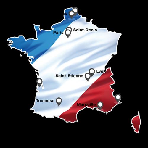 Spielorte Fußball-EM 2016 Frankreich