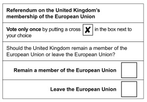 EU-Referndum Großbritannien