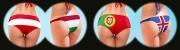 Fußball-EM 2016 - Österreich - Ungarn, Portugal - Island