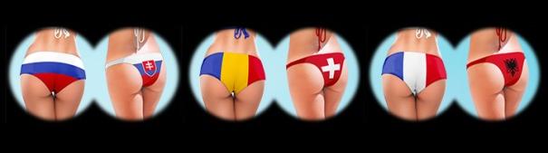Fußball-EM 2016 - Russland vs. Slowakie, Rumänien vs. Schweiz, Frankreich vs. Albanien