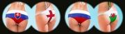 Fußball-EM 2016 - Slowakei vs. England, Russland vs. Wales