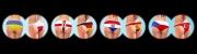 Fußball-EM 2016 - Ukraine vs. Polen, Nordirland vs. Deutschland, Kroatien vs. Spanien, Tschechien vs. Türkei