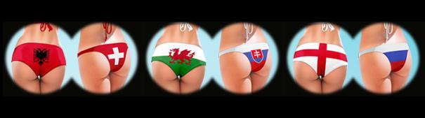 Fußball-EM 2016 - Albanien - Schweiz, Wales - Slowakei, England - Russland