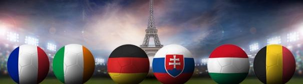 Fußball-EM 2016 Achtelfinale, Frankreich vs. Irland, Deutschland vs. Slowakei, Ungarn vs. Belgien