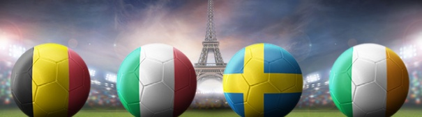 Fußball-EM 2016 Gruppe E - Belgien, Italien, Irland, Schweden