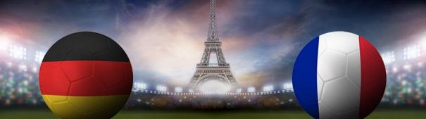 Fußball-EM 2016 Halbfinale - Deutschland vs. Frankreich