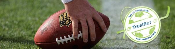 NFL mit TrustBet