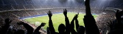 Fußball-Fans im Stadion