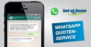 WhatsApp Quoten-Service