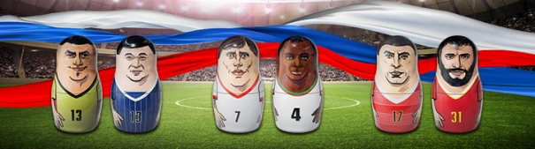 WM 2018 - Kolumbien vs. Japan, Polen vs. Senegal, Russland - Ägypten