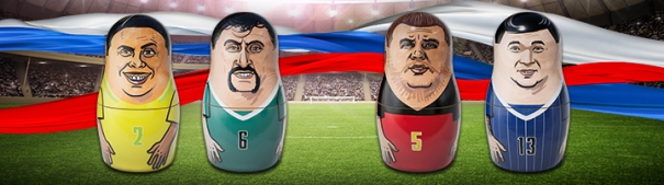 WM 2018 Achtelfinale Brasilien-Mexico, Belgien-japan