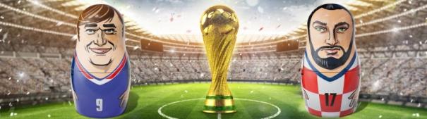 Blog Header WM Finale Frankreich - Kroatien