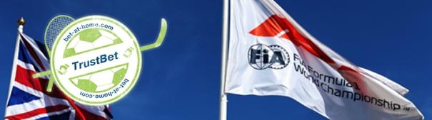 F1 GP Silverstone TrustBet